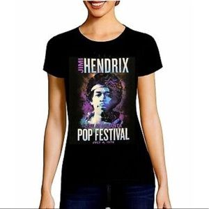 Tops - Jimi Hendrix Band Tee
